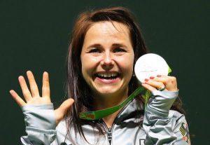 Monika Karsch - Silber - Sportpistole 25 m Frauen
