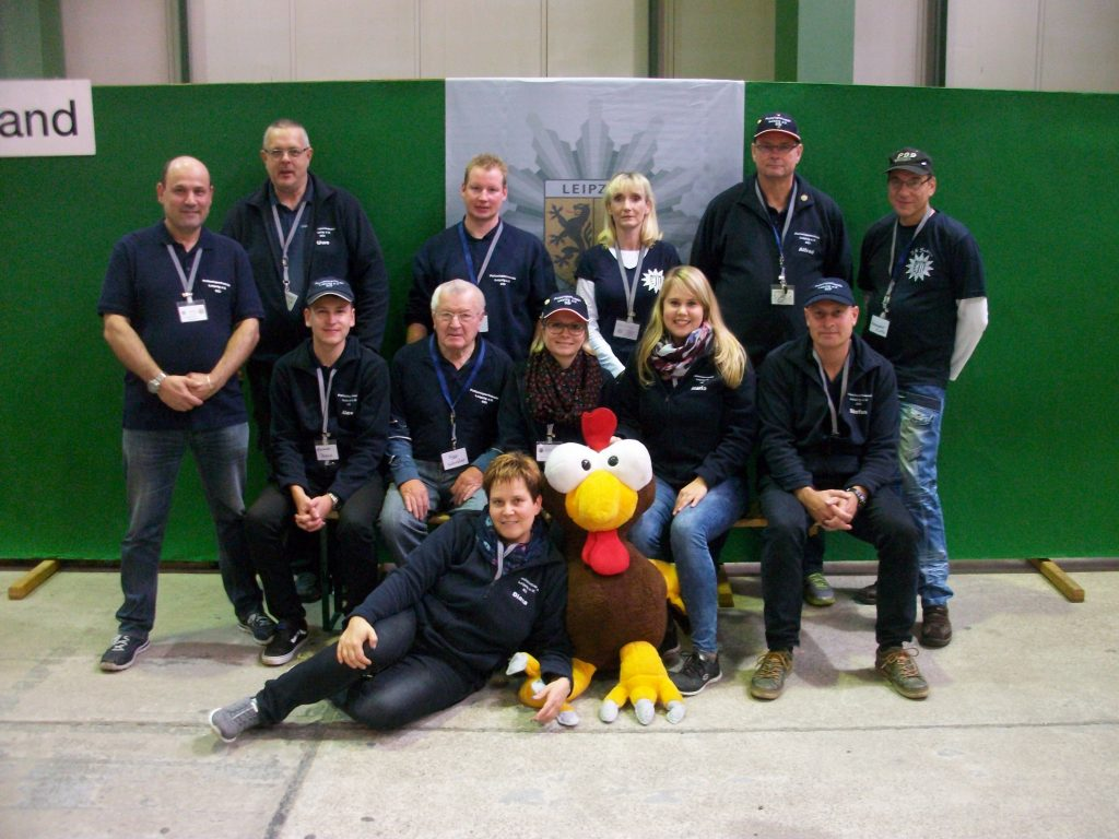 Messeteam der SGI des PSV